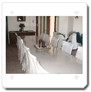 Onrus - Dining Area. Ideal conference facilities.